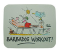 Mouse Pad Barbados Workout
