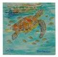 Lunch Paper Napkins with turtles and fish.