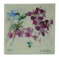 Lunch Paper Napkins - Orchids and Hummingbird