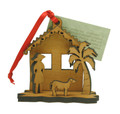 3D Christmas Decoration Chattel House