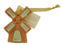 Clay Christmas Decoration Windmill