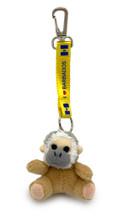 I love Barbados monkey key chain.