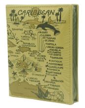 Caribbean souvenir photo album.