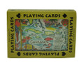 Playing Cards Caribbean Map