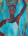 Senegal Girl by Sue Trew