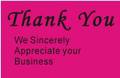 "2 x 3"" Shipping Labels - ""Thank You"""