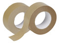 "2"" x 400' Non-Reinforced Kraft Paper Tape: Box of 12"
