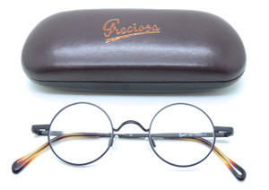 Preciosa Dutch 260 21 Small Round FrameHolland Black glasses from www.theoldglassesshop.co.uk