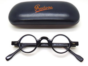 Round acetate glasses by FrameHolland from www.theoldglassesshop.co.uk