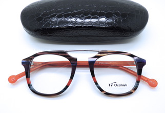 Brilliant retro eyeglasses from TF Occhiali in Italy buy from www.theoldglassesshop.co.uk