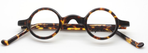 Anglo American Groucho in Amber Havana from www.theoldglassesshop.co.uk
