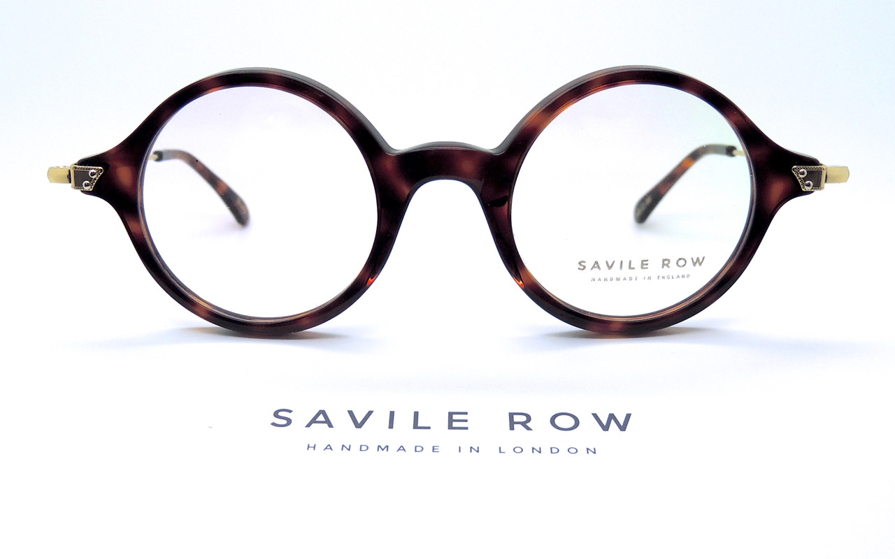 2bb93c4949db HANDMADE IN LONDON Acetate & Gold Combination Frame By Savile Row in  Tortoiseshell Colour Model -BOND