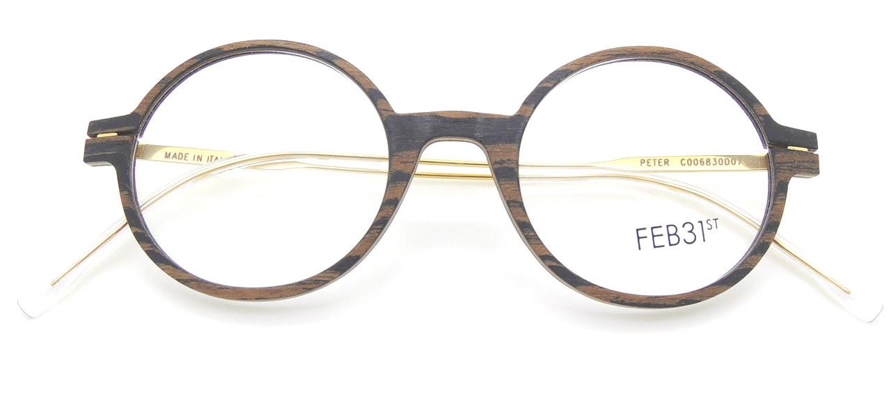 5f1ab28deda Hand Made To Order Round Wooden Prescription Spectacles Model PETER