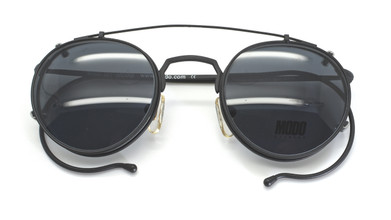 Clip-on Sunglasses for panto shaped glasses  by Modo from www.theoldglassesshop.co.uk