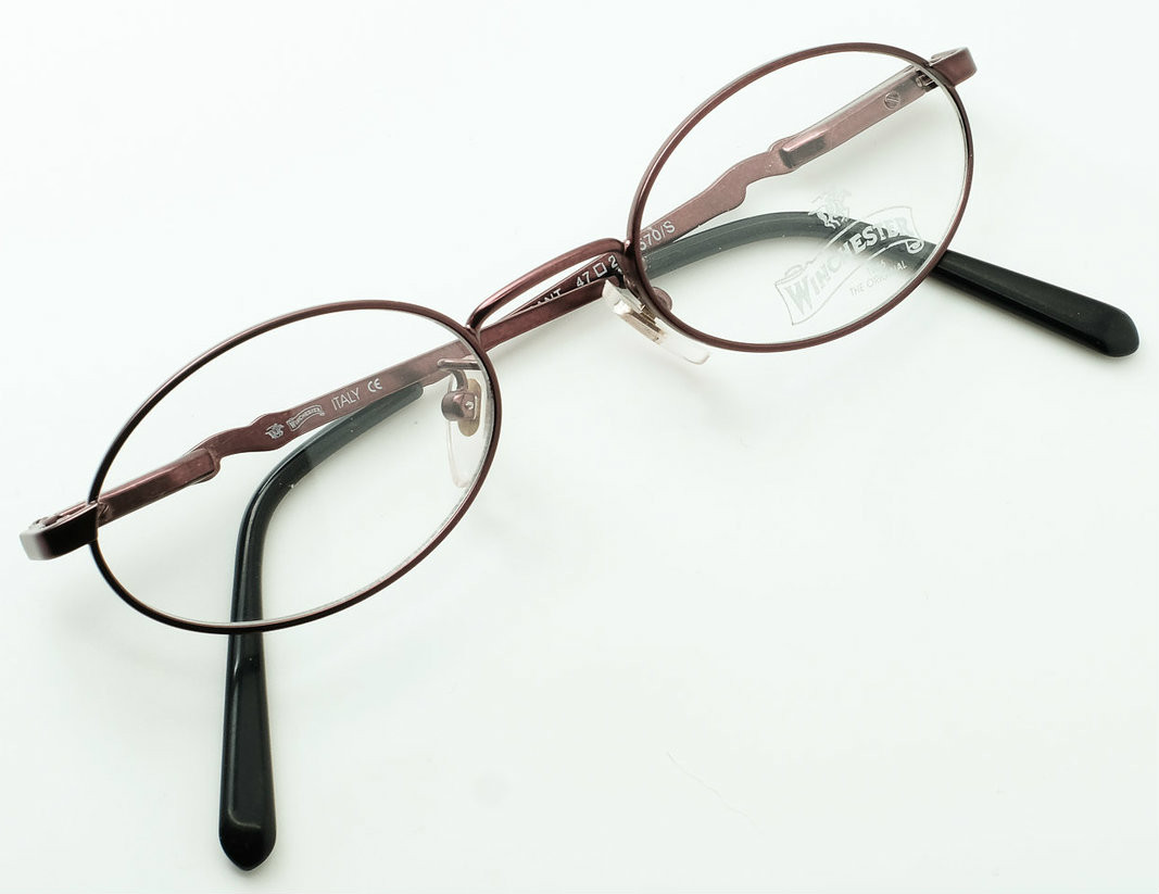 3937f6fdf9a2 Made in Italy Oval Prescription Glasses in Burgundy GRANT By Winchester 1866