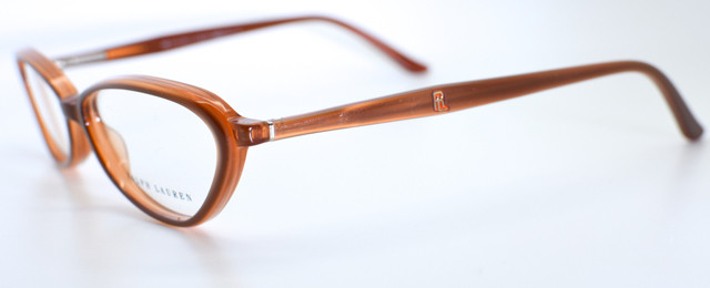 6bc060a69d Vintage Cateye Style Designer Frames by Ralph Lauren 1338 in Tan Colour