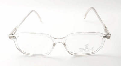 Clear crystal vintage rectangular frame by Winchester.