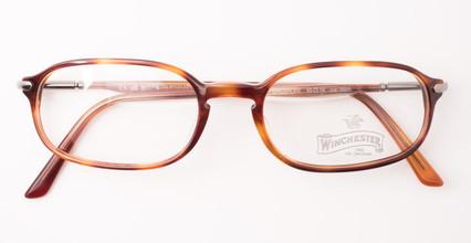 Vintage rectangular glasses.