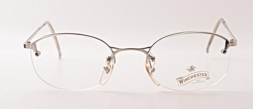 Silver Half Rim Frames By Winchester At The Old Glasses Shop