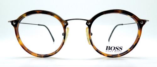 Round Tortoiseshell Glasses By Hugo Boss At The Old Glasses Shop