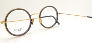Tonio Real wood and metal framed hand made to order prescription glasses by FEB31st