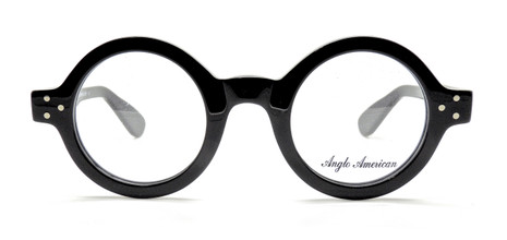 Round Vintage Style Thick Rimmed Anglo American Frames At www.theoldglassesshop.co.uk