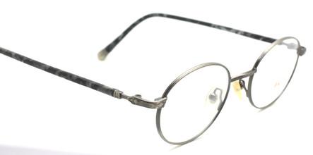 Vintage Engraved Oval Shaped Glasses By Willis & Geiger At www.theoldglassesshop.com