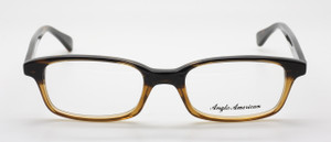 Graduated Light To Dark Brown Rimmed Anglo American Glasses At The Old Glasses Shop