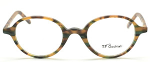 Classic Oval Shaped Glasses By TF Occhiali At The Old Glasses Shop