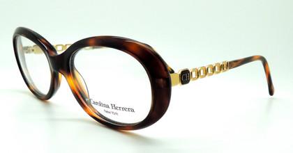Carolina Herrera CH 506 Vintage Oval Glasses At www.theoldglassesshop.co.uk