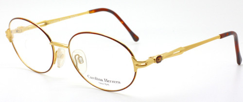 Carolina Herrera 706 Oval Spectacles At www.theoldglassesshop.co.uk
