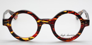 253232cf921 Someone in Basildon just made themselves VERY happy and purchased Large  Round Anglo American 180E Thick Rimmed Glasses In A Fantastic Fiery  Tortoiseshell ...