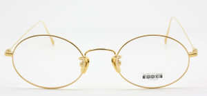 Les Pieces Uniques  CLOUD frames available from www.theoldglassesshop.co.uk in gold