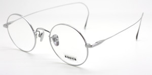 Les Pieces Uniques  Curlsides CLOUD frame available from www.theoldglassesshop.co.uk in silver finish