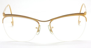 Vintage Savile Row Algha Works Half Rim Glasses At www.theoldglassesshop.co.uk