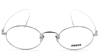 Vintage Oval Titanium Glasses By Les Pieces Uniques At The Old Glasses Shop