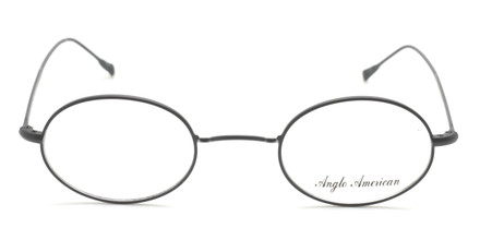 Vintage Style Oval Glasses With 'W' Bridge By Anglo American At The Old Glasses Shop