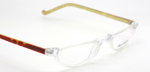 Anglo American Oxford Half Moon Shaped Acrylic Spectacles At The Old Glasses Shop