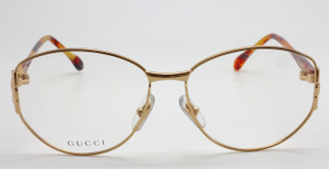 Vintage Gucci 3249 Large Eye Glasses Frames At www.theoldglassesshop.com