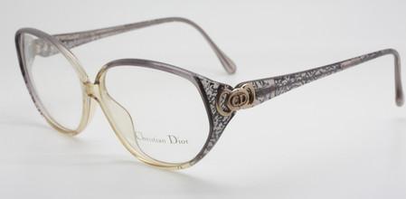 Christian Dior 2872 Grey/Silver Large Eye Glasses At www.theoldglassesshop.com