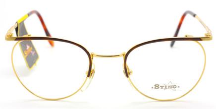 Sting 318 Col.05 Panto Shaped Designer Vintage Glasses At www.theoldglassesshop.com