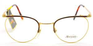 Sting 318 Col.05 Panto Shaped Designer Vintage Glasses At www.theoldglassesshop.com