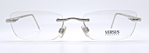 Versace C30 924 rimless silver frame from www.theoldglassesshop.co.uk