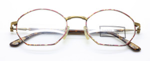 Hardy Amies Antique Gold and Turtle multi frame from www.theoldglassesshop.co.uk
