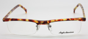 Elongated tortoiseshell frame