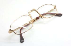d6e82096c37 Hilton Full Size FOLDING 24kt Gold Plated Luxury Glasses 54mm lenses ...