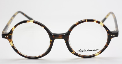 Anglo American 400 TOSH in tortoiseshell and yellow from The Old Glasses Shop Ltd