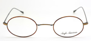 Anglo American 41N MTMC in Antique Gold and Tortoiseshell from www.theoldglassesshop.co.uk