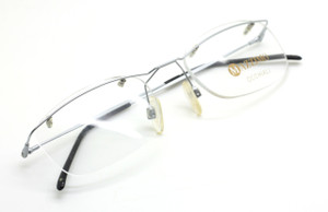 87c9b5701c07 Rimless prescription eyewear from The Old Glasses Shop Ltd. Mazzimo  Occhiali MA1002 Rimless Frame ...