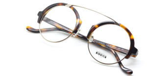 Les Pieces Uniques Romeo col.02 tortoiseshell frames from www.theoldglassesshop.co.uk